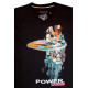 Koszulka żeglarska motorowodna Power Boats Black