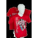 Koszulki żeglarskie - motorowodne Power Boats RED