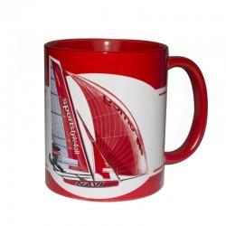 Kubek Żeglarski - Sport Yachts Red