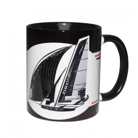 Kubek Żeglarski - Sport Yachts Black